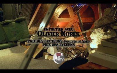Sang d'encre entretien avec Olivier Norek