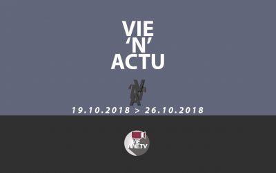 Vie'N'Actu  du 19 au 26 Octobre 2018. Toute l'actu de la semaine sur Vienne et sa région