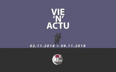 Vie'N'Actu du 02.11. 2018 au 09.11.2018  //  Toute l'actu de la région de Vienne Condrieu