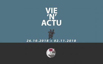Vie'N'Actu 26.10.2018 au 02.11.2018 – Toute l'actu de Vienne Condrieu et leur région.