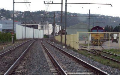 Un train de voyageurs rive droite Vie'N'Actu du 19 03 2021 I Vienne Condrieu